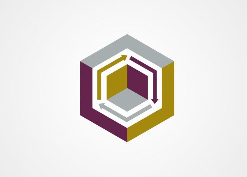Diseño de logotipo y papelería para Kaizen, una empresa que ofrece servicios de arquitectura e ingeniería. 1
