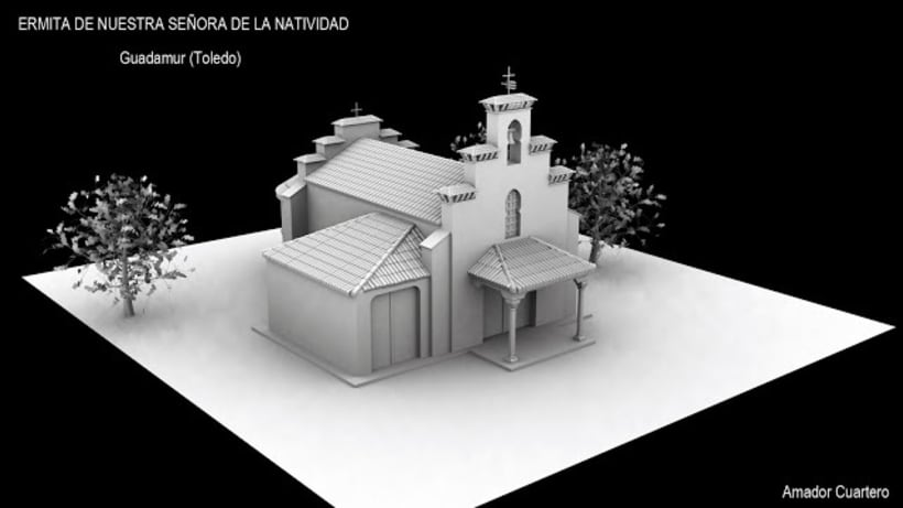 Dibujos en 3ds Max, Vray y Photoshop 2