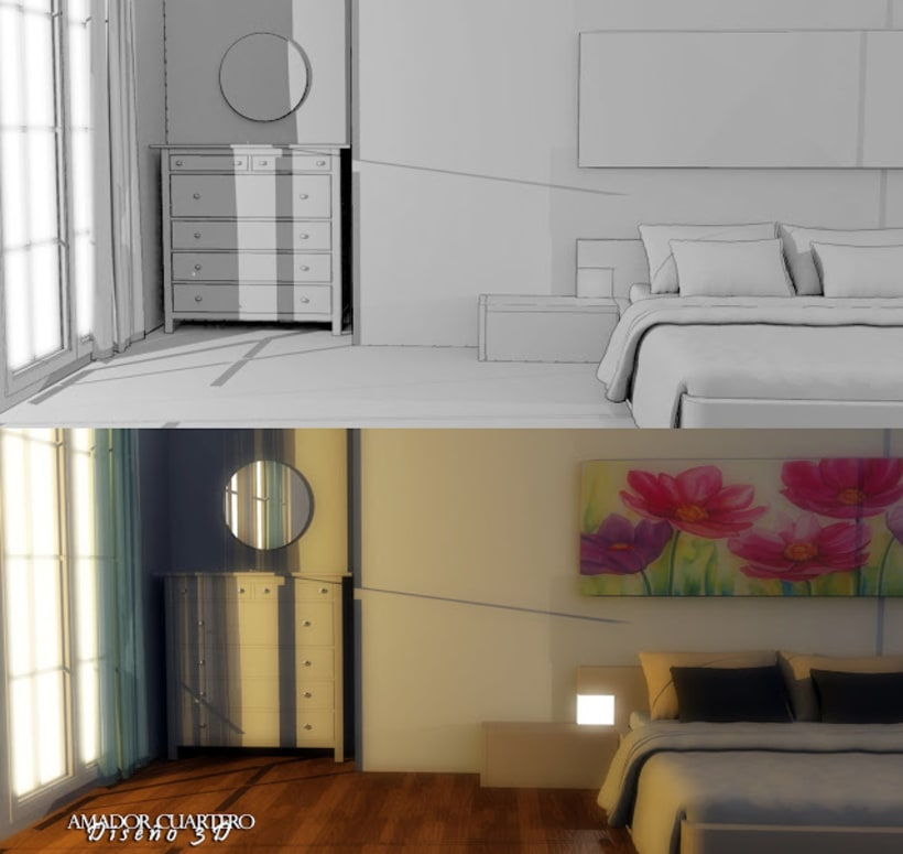 Dibujos en 3ds Max, Vray y Photoshop 4