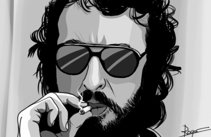 Serie de dibujos de avatares de Twitter 0
