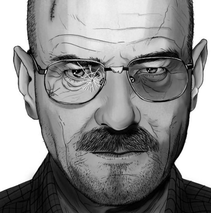 Serie de dibujos de avatares de Twitter 3