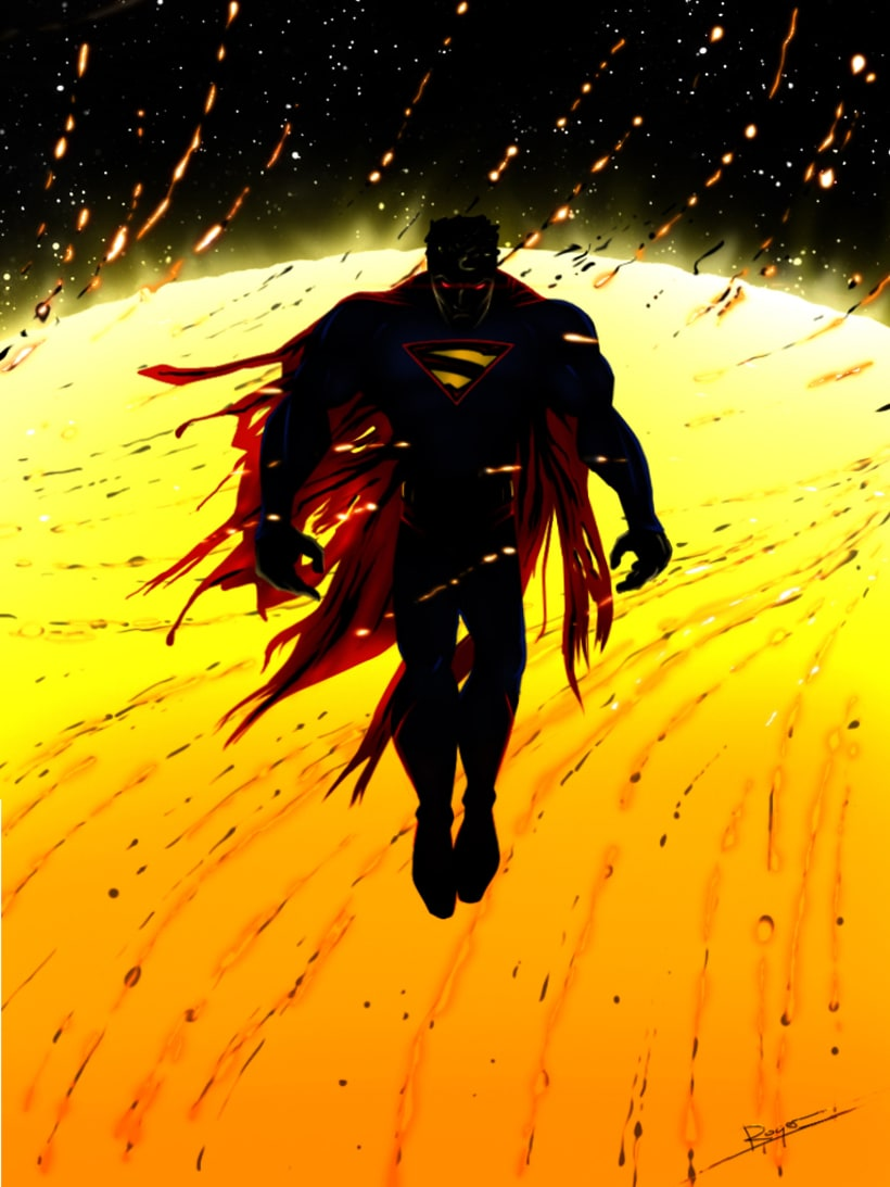 Serie de dibujos de superhéroes 2