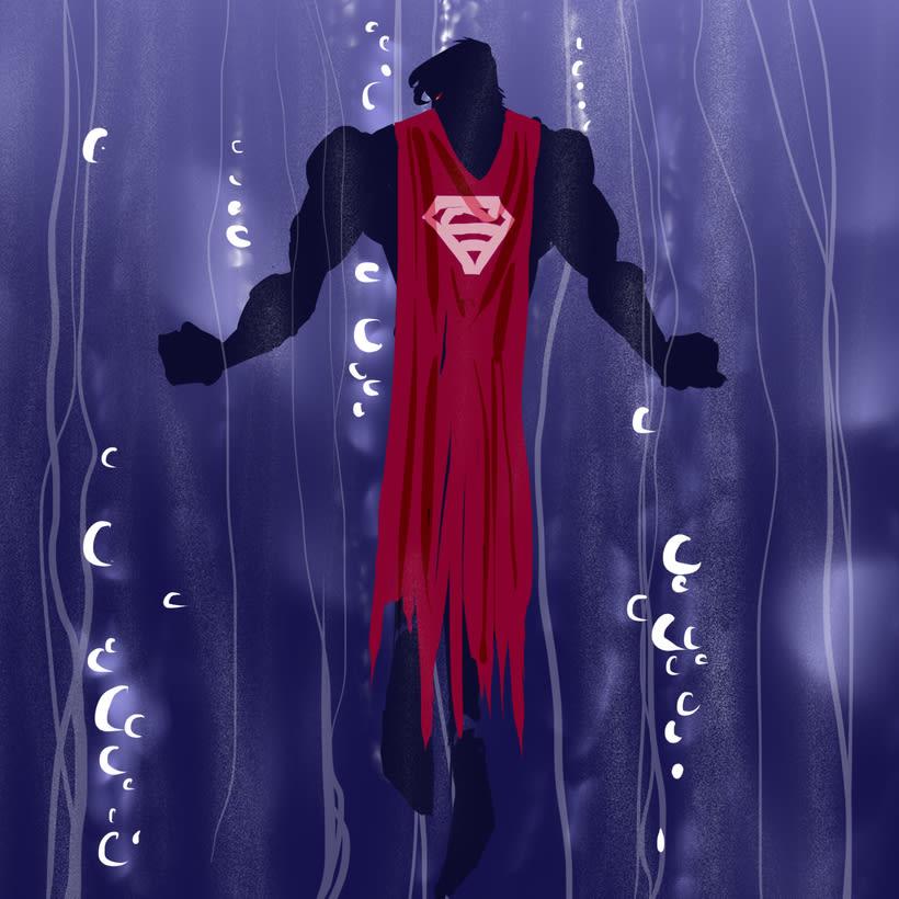 Serie de dibujos de superhéroes 3