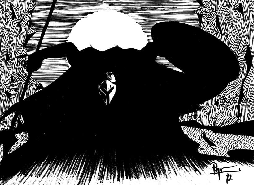 Serie de dibujos de superhéroes 4