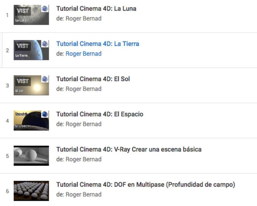 Tutoriales gratuitos de Maxon Cinema4D 1