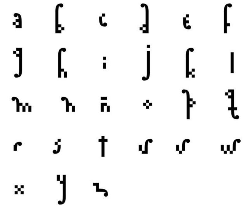 Letra: catálogo tipográfico ecuatoriano 3