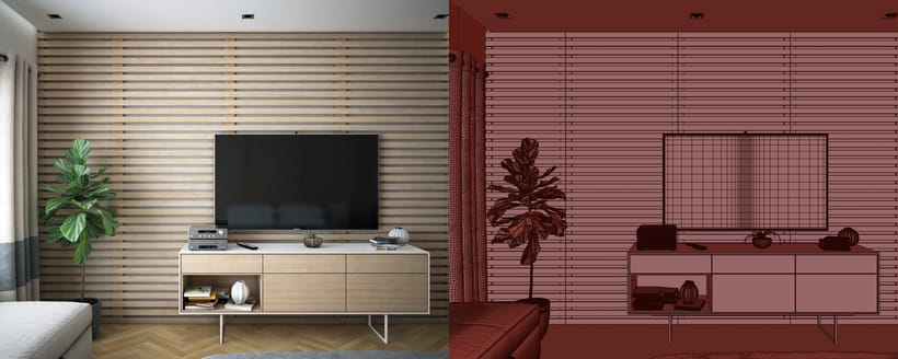 Diseño Apartamento 3D 3