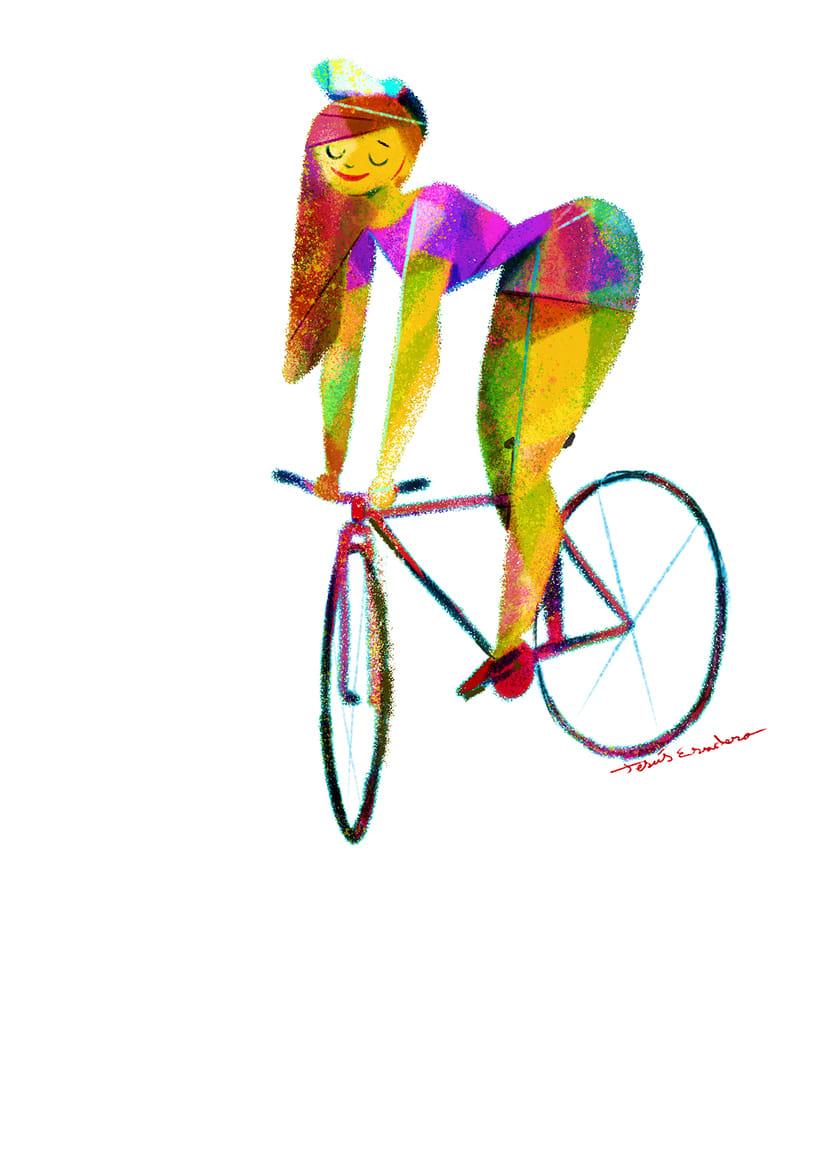 Fixie Girls. Las bicicletas son para el verano. 2