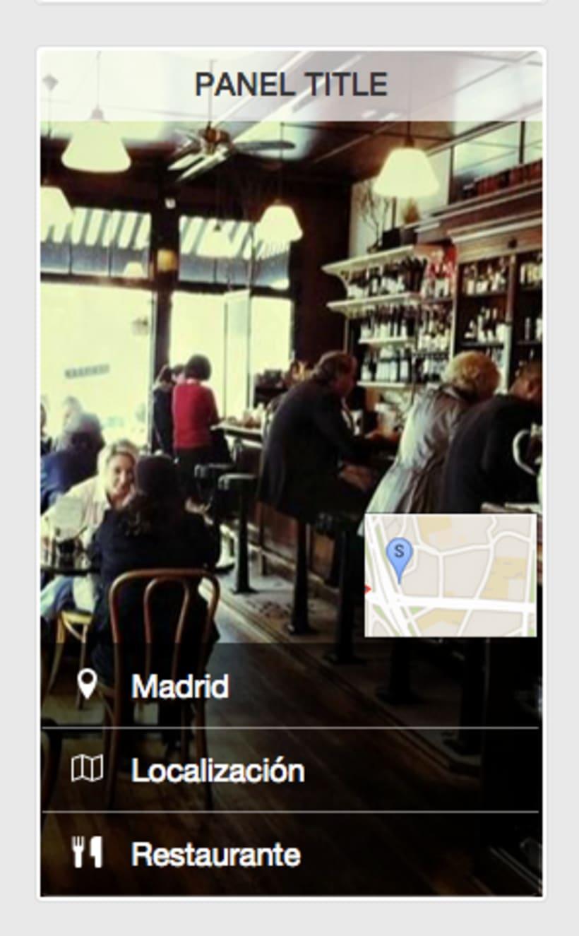 """Diseño interfaz de aplicación móvil """"Situalo"""" 6"""
