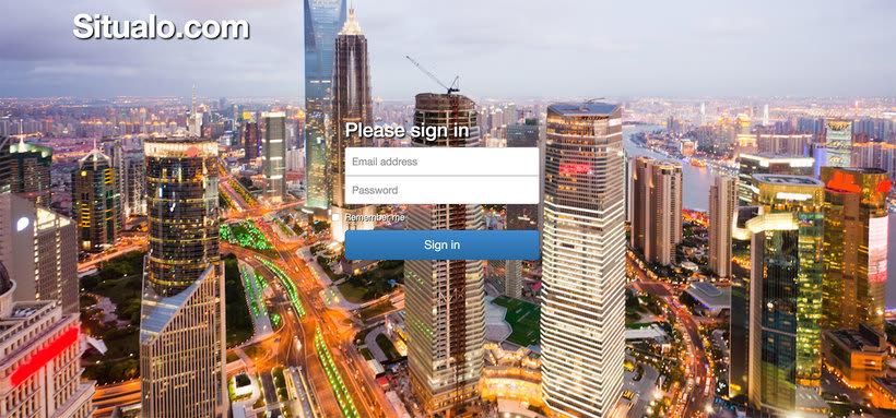 """Diseño interfaz de aplicación móvil """"Situalo"""" 0"""