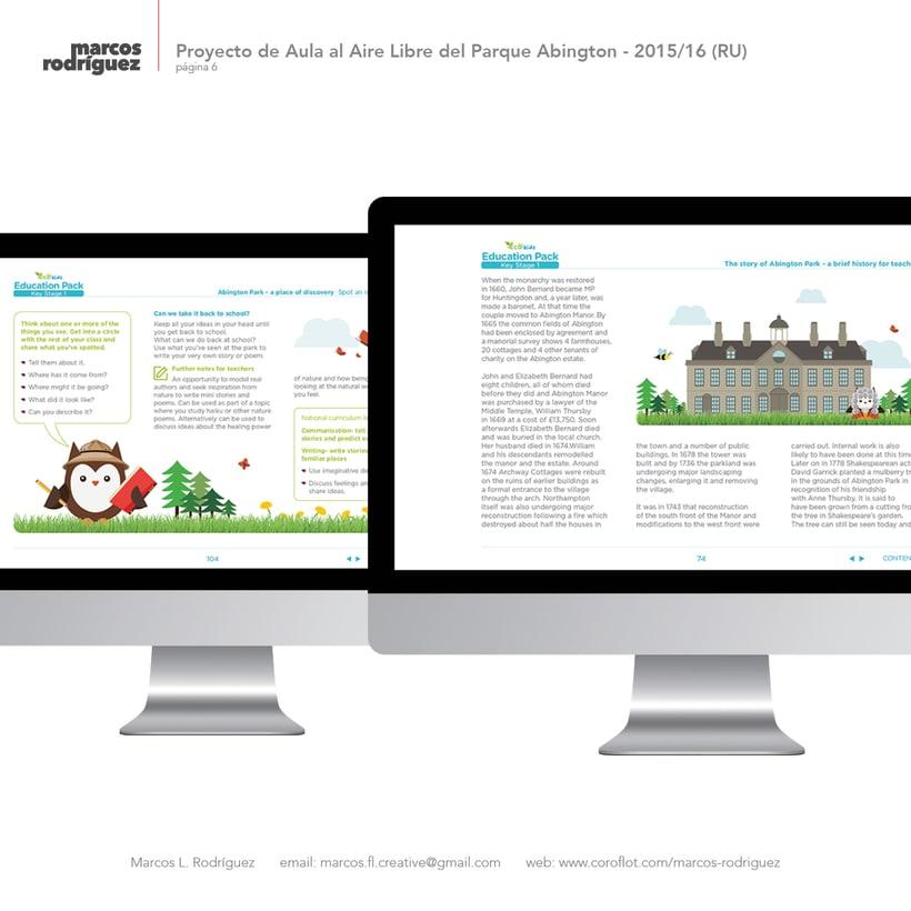 Proyecto de Aula al Aire Libre del Parque Abington - 2015/2016 (Reino Unido) 4