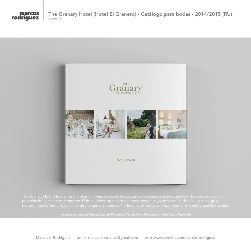 The Granary Hotel (Hotel El Granero) - Catálogo para bodas - 2014/2015 (Reino Unido) 1