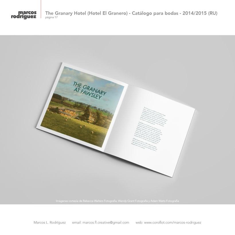 The Granary Hotel (Hotel El Granero) - Catálogo para bodas - 2014/2015 (Reino Unido) 2