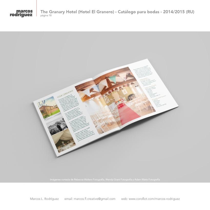 The Granary Hotel (Hotel El Granero) - Catálogo para bodas - 2014/2015 (Reino Unido) 3