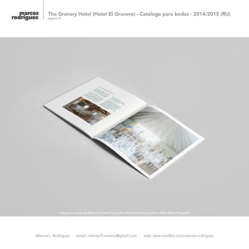 The Granary Hotel (Hotel El Granero) - Catálogo para bodas - 2014/2015 (Reino Unido) 4
