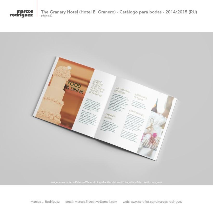 The Granary Hotel (Hotel El Granero) - Catálogo para bodas - 2014/2015 (Reino Unido) 5
