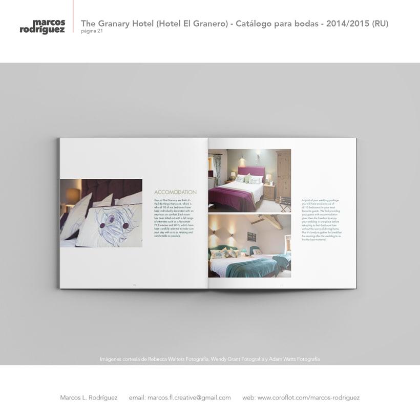 The Granary Hotel (Hotel El Granero) - Catálogo para bodas - 2014/2015 (Reino Unido) 6