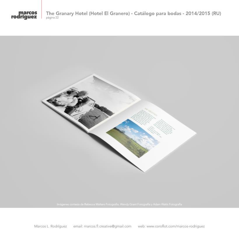 The Granary Hotel (Hotel El Granero) - Catálogo para bodas - 2014/2015 (Reino Unido) 7