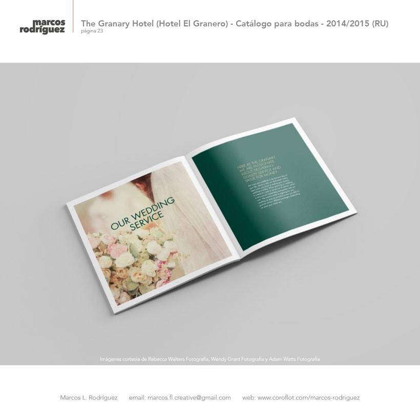 The Granary Hotel (Hotel El Granero) - Catálogo para bodas - 2014/2015 (Reino Unido) 8