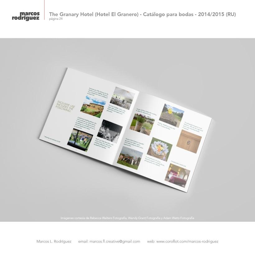 The Granary Hotel (Hotel El Granero) - Catálogo para bodas - 2014/2015 (Reino Unido) 9