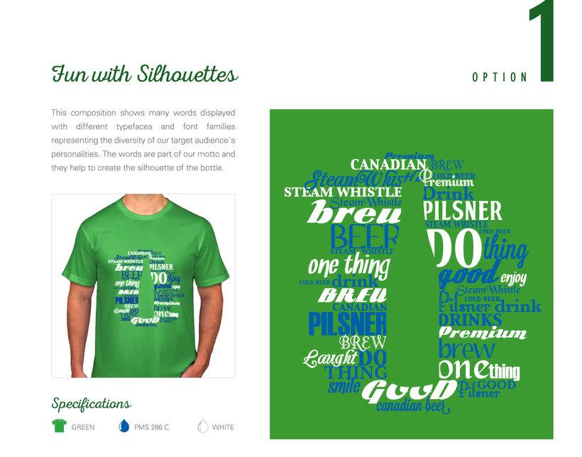 Steam Whistle - Diseño de T-Shirt  ·  Toronto, ON Canadá 0