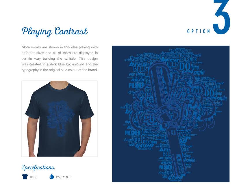 Steam Whistle - Diseño de T-Shirt  ·  Toronto, ON Canadá 1