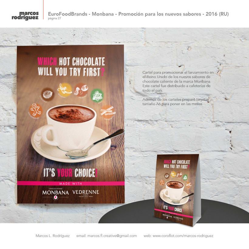EuroFoodBrands - Monbana - Promoción para los nuevos sabores - 2016 (Reino Unido) 1