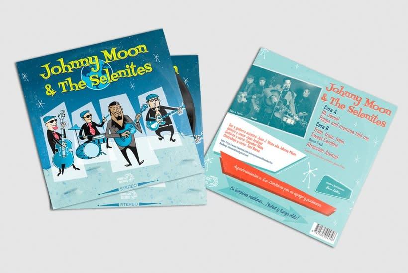 Single Johnny Moon & The Selenites 0