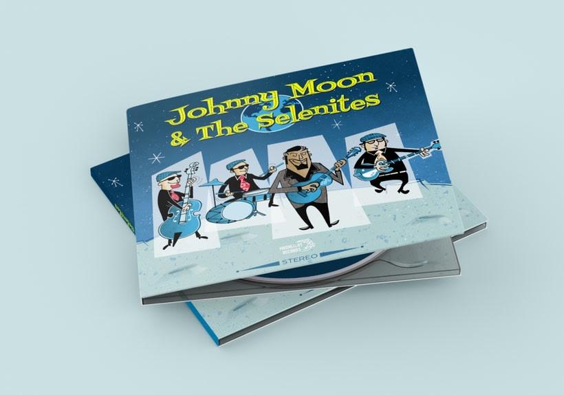Single Johnny Moon & The Selenites 1