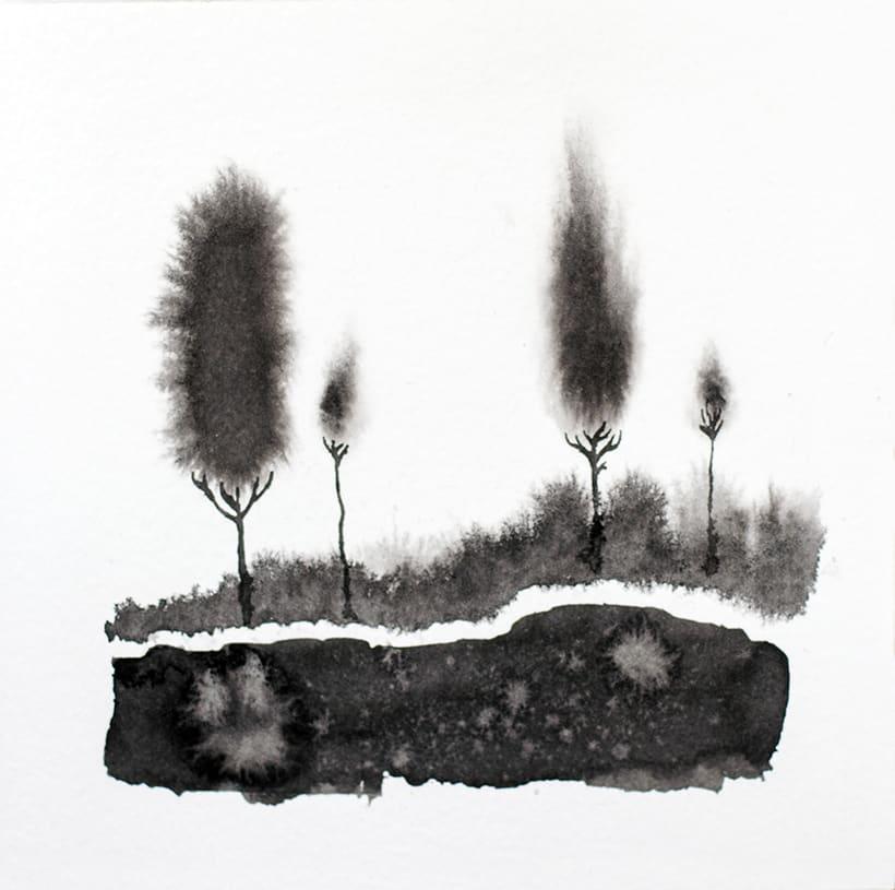 algunos árboles para un libro ilustrado de poesía 2
