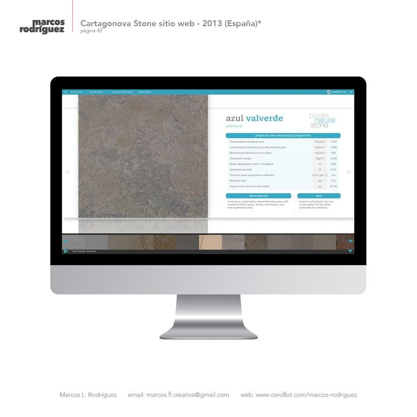 Cartagonova Stone sitio web - 2013 (España)* 4