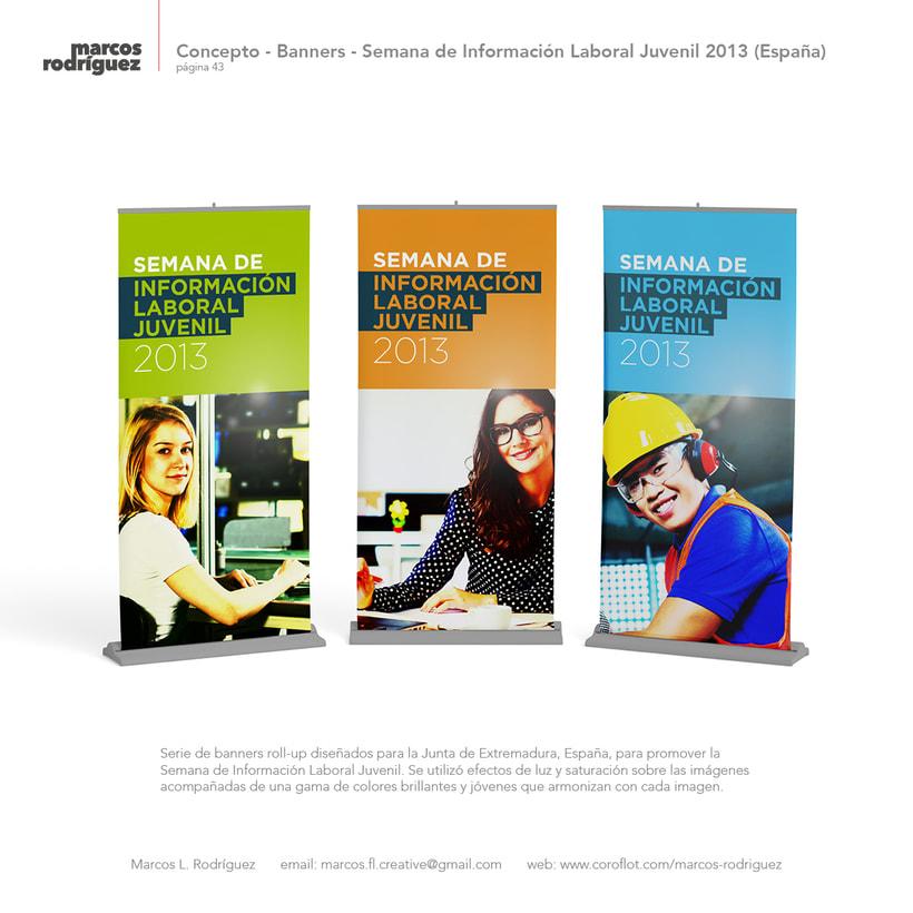 Concepto - Banners - Semana de Información Laboral Juvenil 2013 (España) 1