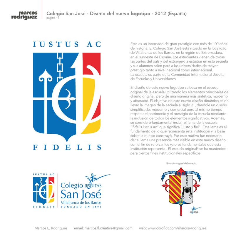 Colegio San José - Diseño del nuevo logotipo - 2012 (España) 0