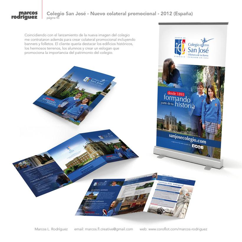 Colegio San José - Nuevo colateral promocional - 2012 (España) 1