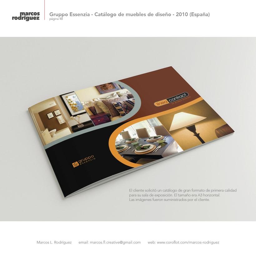 Gruppo Essenzia - Catálogo de muebles de diseño - 2010 (España) 1
