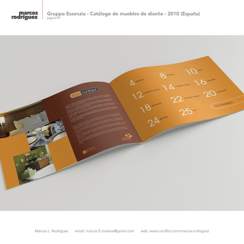 Gruppo Essenzia - Catálogo de muebles de diseño - 2010 (España) 2
