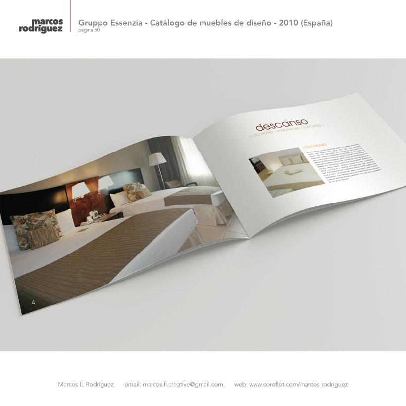 Gruppo Essenzia - Catálogo de muebles de diseño - 2010 (España) 3