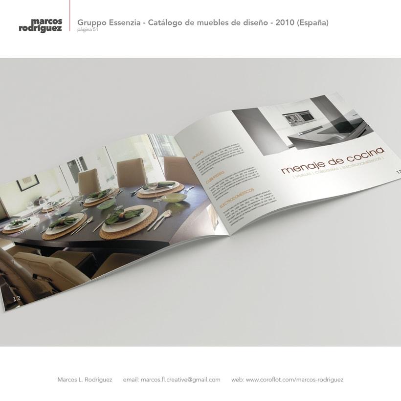 Gruppo Essenzia - Catálogo de muebles de diseño - 2010 (España) 4