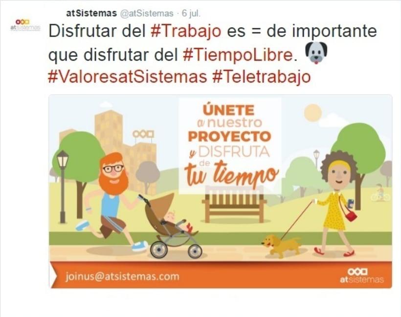 Campaña Twitter Ads valores de empresa 3