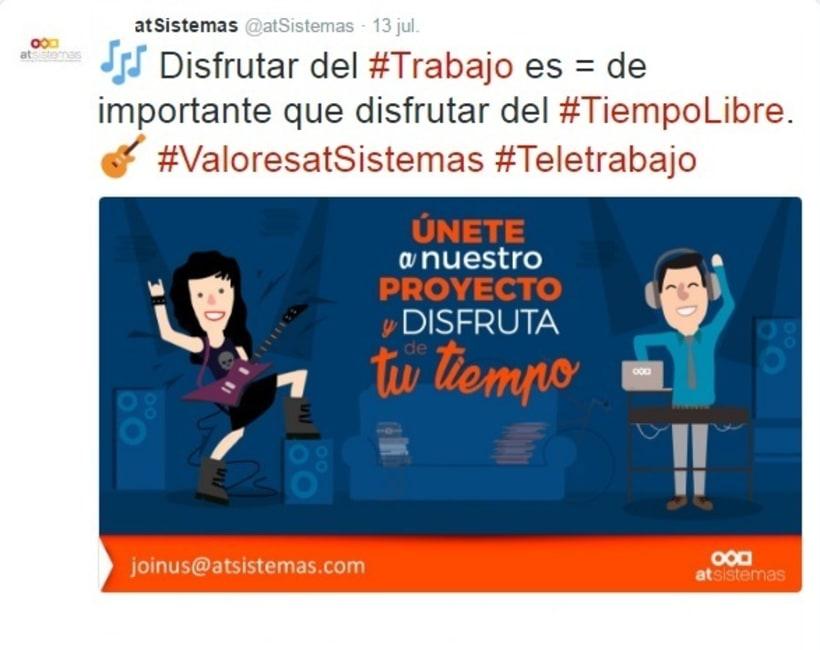 Campaña Twitter Ads valores de empresa 4