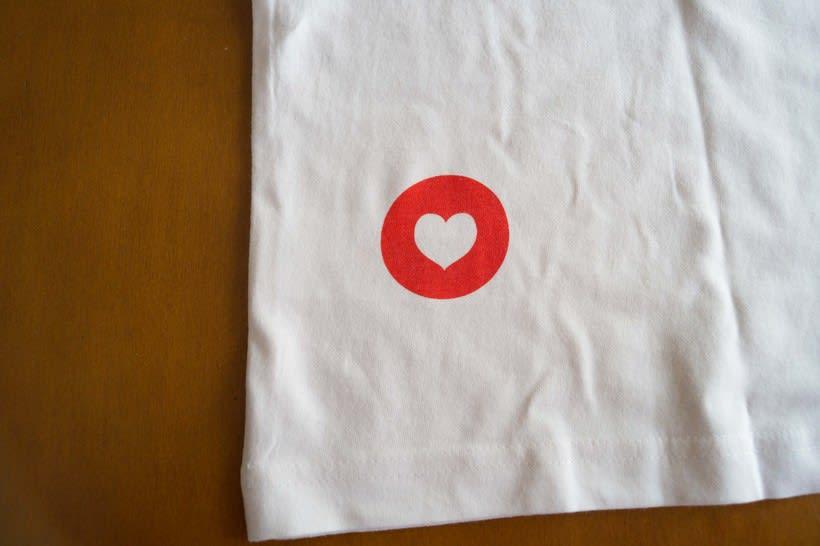 Serigrafía de papel y textil ONELOVE 7