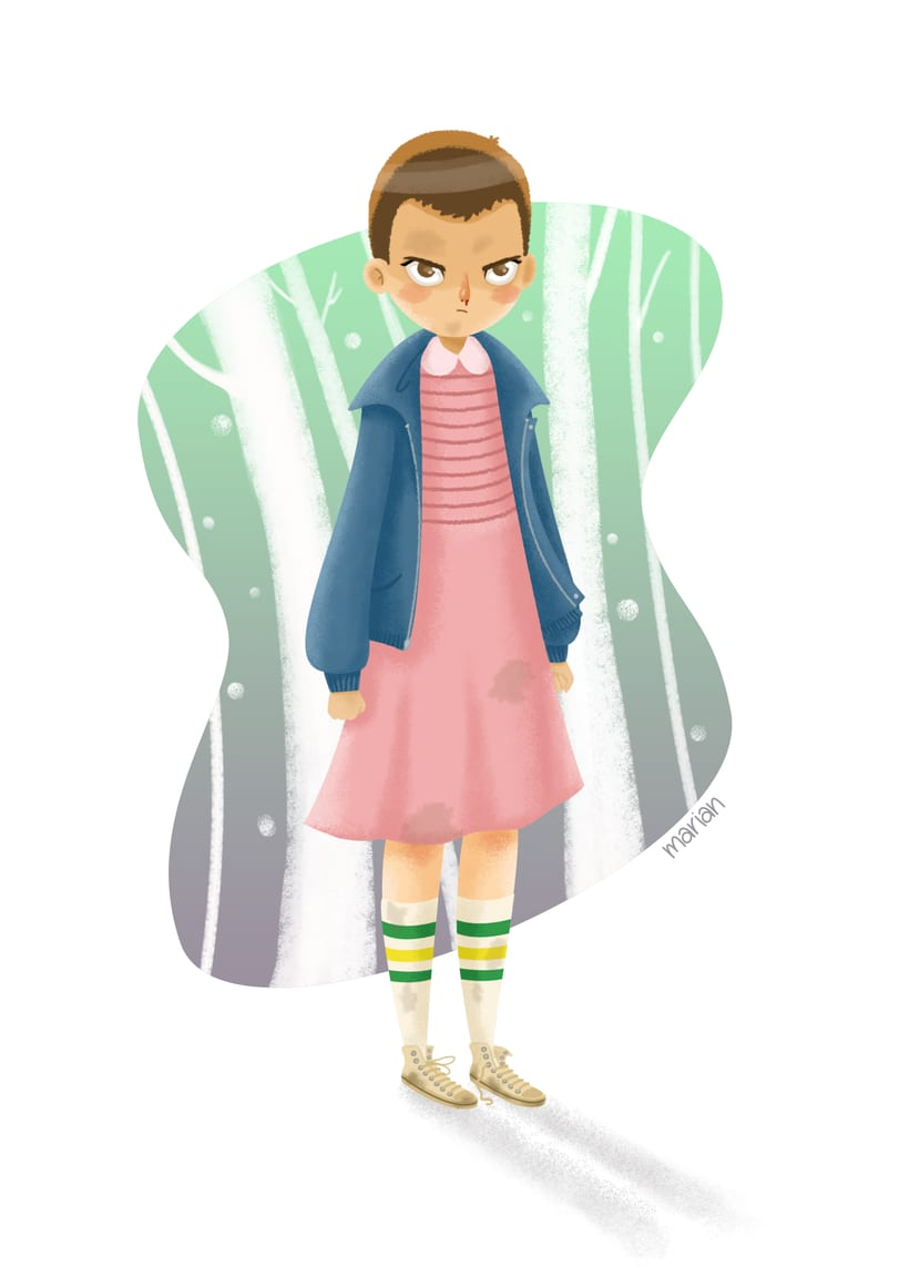 Fan Art - Eleven (Stranger Things) -1