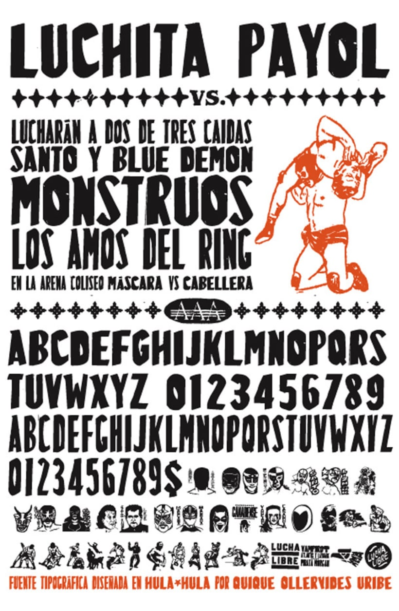 20 fuentes gratuitas de tipógrafos iberoamericanos 21