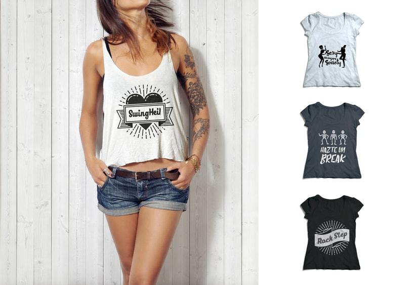 Camisetas de Swing -1