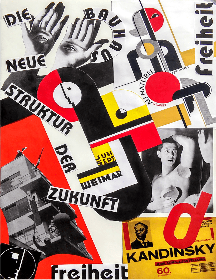 Collage en homenaje a Bauhaus -1