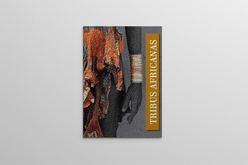 Diseño Editorial Tribus Africanas. 0