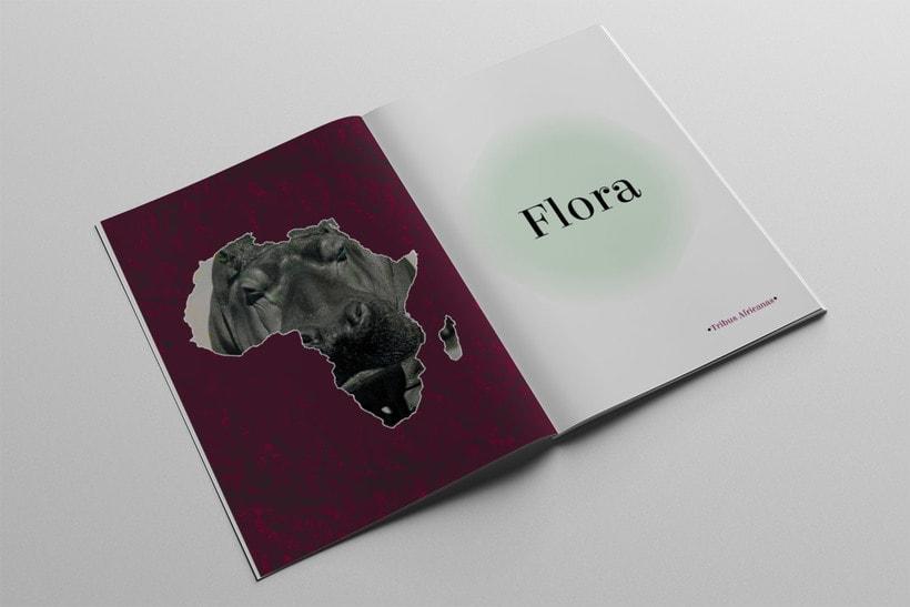 Diseño Editorial Tribus Africanas. 4