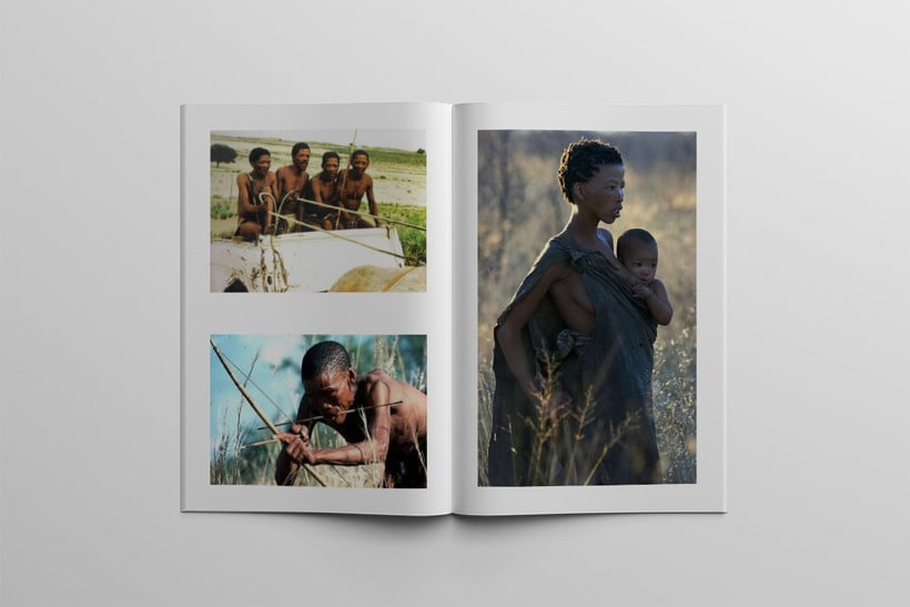 Diseño Editorial Tribus Africanas. 13