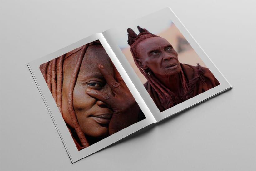 Diseño Editorial Tribus Africanas. 17
