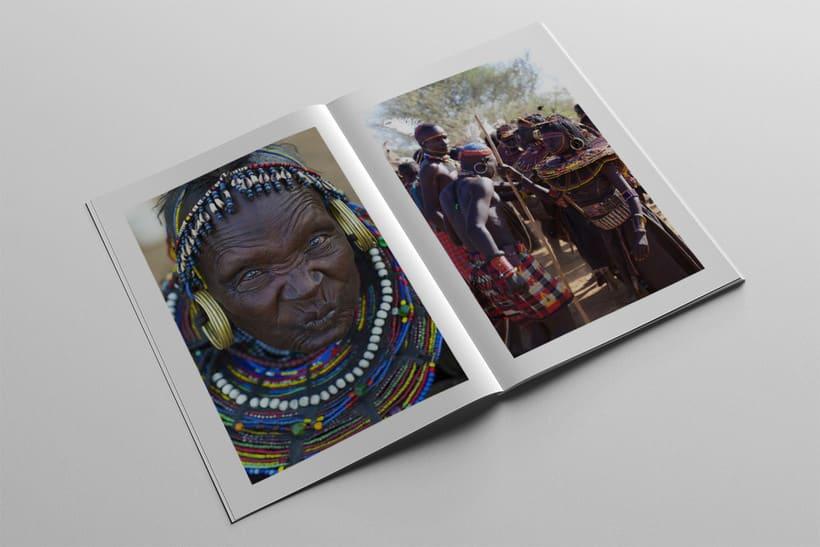Diseño Editorial Tribus Africanas. 21
